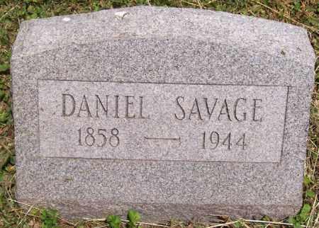 SAVAGE, DANIEL - Jackson County, Ohio | DANIEL SAVAGE - Ohio Gravestone Photos