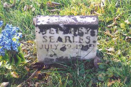 SEARLES, JEFFREY - Jackson County, Ohio   JEFFREY SEARLES - Ohio Gravestone Photos