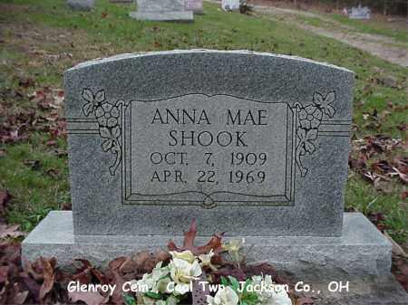SHOOK, ANNA - Jackson County, Ohio | ANNA SHOOK - Ohio Gravestone Photos