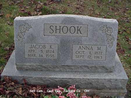 MAY SHOOK, ANNA - Jackson County, Ohio | ANNA MAY SHOOK - Ohio Gravestone Photos
