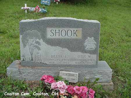 SHOOK, OTIS - Jackson County, Ohio | OTIS SHOOK - Ohio Gravestone Photos