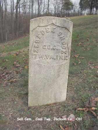 SHOOK, ZEBEDEE - Jackson County, Ohio | ZEBEDEE SHOOK - Ohio Gravestone Photos