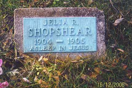 SHOPSHEAR, JELIA ROZETTA - Jackson County, Ohio | JELIA ROZETTA SHOPSHEAR - Ohio Gravestone Photos