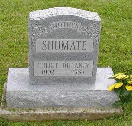 DULANEY SHUMATE, CHLOE - Jackson County, Ohio   CHLOE DULANEY SHUMATE - Ohio Gravestone Photos
