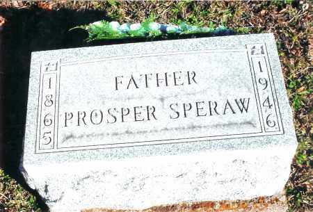 SPERAW, PROSPER - Jackson County, Ohio | PROSPER SPERAW - Ohio Gravestone Photos