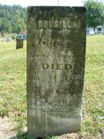 SPRINGER, DRUSILLA - Jackson County, Ohio   DRUSILLA SPRINGER - Ohio Gravestone Photos