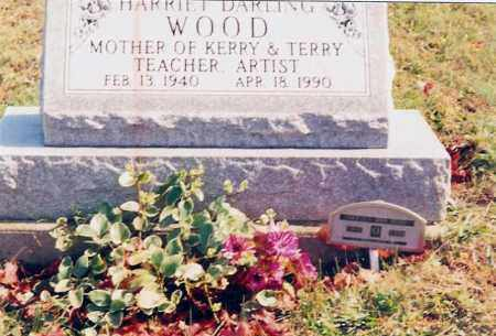 WOOD, HARRIET - Jackson County, Ohio | HARRIET WOOD - Ohio Gravestone Photos