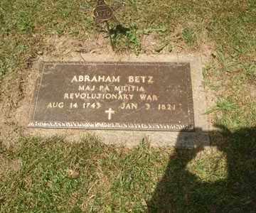 ABRAHAM, BETZ - Jefferson County, Ohio   BETZ ABRAHAM - Ohio Gravestone Photos