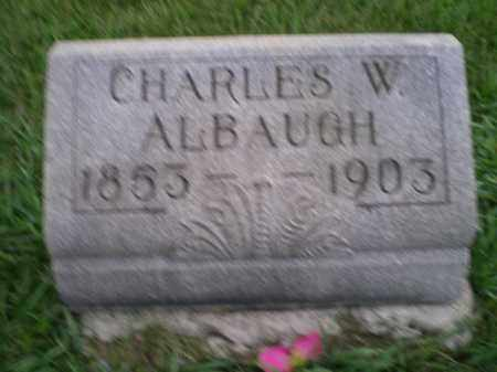ALBAUGH, CHARLES WESLEY - Jefferson County, Ohio   CHARLES WESLEY ALBAUGH - Ohio Gravestone Photos