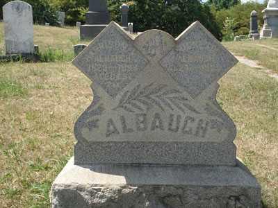 DAVIS ALBAUGH, LUCRETIA - Jefferson County, Ohio | LUCRETIA DAVIS ALBAUGH - Ohio Gravestone Photos