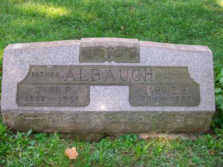 ALBAUGH, JOHN RAY - Jefferson County, Ohio | JOHN RAY ALBAUGH - Ohio Gravestone Photos