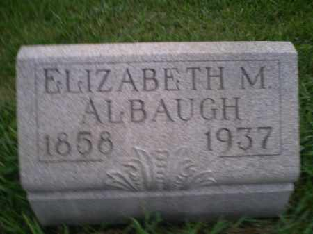 MERRYMAN ALBAUGH, REBECCA ELIZABETH - Jefferson County, Ohio | REBECCA ELIZABETH MERRYMAN ALBAUGH - Ohio Gravestone Photos