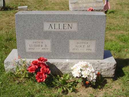 RICHARDSON ALLEN, ALICE MAE - Jefferson County, Ohio | ALICE MAE RICHARDSON ALLEN - Ohio Gravestone Photos