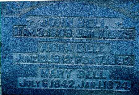 FARMER BELL, ANNIE - Jefferson County, Ohio | ANNIE FARMER BELL - Ohio Gravestone Photos