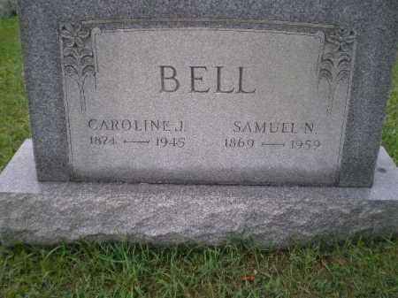 BELL, CAROLINE JANE - Jefferson County, Ohio | CAROLINE JANE BELL - Ohio Gravestone Photos