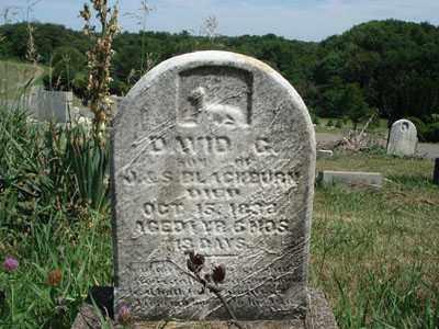 BLACKBURN, DAVID G. - Jefferson County, Ohio   DAVID G. BLACKBURN - Ohio Gravestone Photos