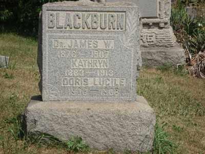 BLACKBURN, DR. JAMES - Jefferson County, Ohio | DR. JAMES BLACKBURN - Ohio Gravestone Photos