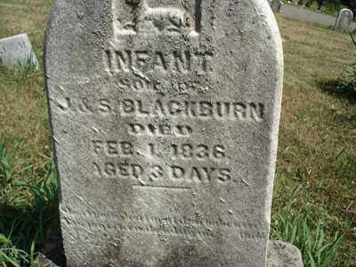 BLACKBURN, INFANT SON - Jefferson County, Ohio | INFANT SON BLACKBURN - Ohio Gravestone Photos