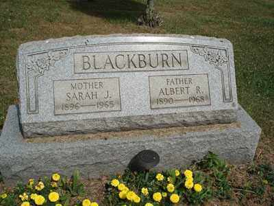 BLACKBURN, ALBERT R. - Jefferson County, Ohio | ALBERT R. BLACKBURN - Ohio Gravestone Photos