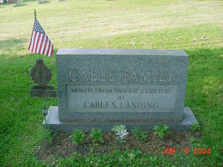CABLE, PHILLIP - Jefferson County, Ohio | PHILLIP CABLE - Ohio Gravestone Photos