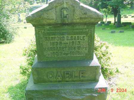 CABLE, SANFORD - Jefferson County, Ohio | SANFORD CABLE - Ohio Gravestone Photos