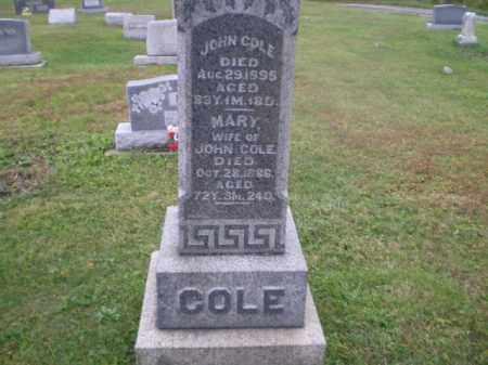 COLE, MARY OPAL - Jefferson County, Ohio | MARY OPAL COLE - Ohio Gravestone Photos
