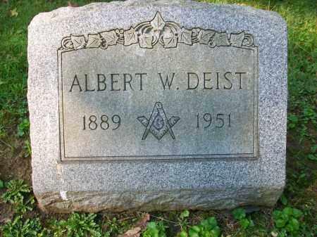 DEIST, ALBERT W - Jefferson County, Ohio | ALBERT W DEIST - Ohio Gravestone Photos