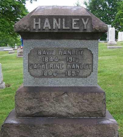 HUGHES HANLEY, CATHERINE - Jefferson County, Ohio | CATHERINE HUGHES HANLEY - Ohio Gravestone Photos