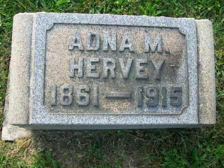 HERVEY, ADNA - Jefferson County, Ohio | ADNA HERVEY - Ohio Gravestone Photos