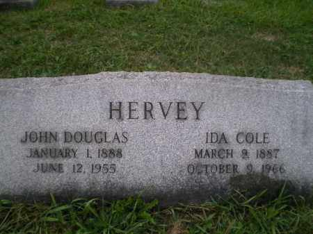 HERVEY, JOHN DOUGLAS - Jefferson County, Ohio | JOHN DOUGLAS HERVEY - Ohio Gravestone Photos