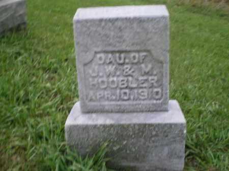HOOBLER, GIRL - Jefferson County, Ohio   GIRL HOOBLER - Ohio Gravestone Photos