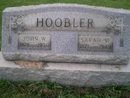 HERVEY HOOBLER, SARAH M - Jefferson County, Ohio | SARAH M HERVEY HOOBLER - Ohio Gravestone Photos
