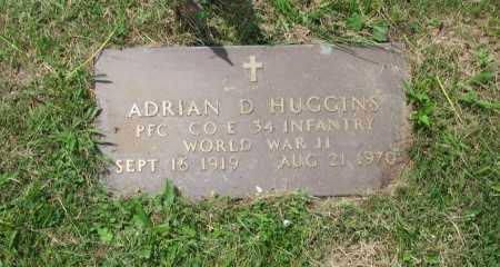 HUGGINS, ADRIAN D. - Jefferson County, Ohio | ADRIAN D. HUGGINS - Ohio Gravestone Photos