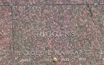 HUGGINS, MARGARET - Jefferson County, Ohio   MARGARET HUGGINS - Ohio Gravestone Photos