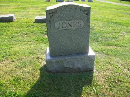JONES, AMOS AND OWELLA JONES FAMILY STONE - Jefferson County, Ohio | AMOS AND OWELLA JONES FAMILY STONE JONES - Ohio Gravestone Photos
