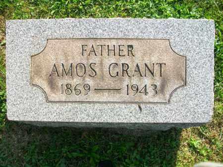 JONES, AMOS GRANT - Jefferson County, Ohio | AMOS GRANT JONES - Ohio Gravestone Photos