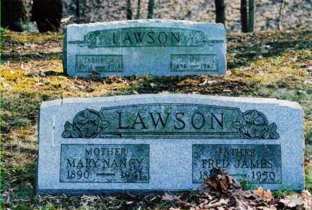 LAWSON, FREDERICK JAMES - Jefferson County, Ohio | FREDERICK JAMES LAWSON - Ohio Gravestone Photos