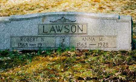 SILVERS LAWSON, ANNA MARY - Jefferson County, Ohio | ANNA MARY SILVERS LAWSON - Ohio Gravestone Photos