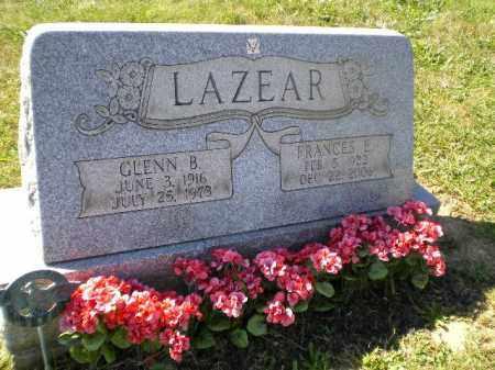 ALBAUGH LAZEAR, FRANCES EILEEN - Jefferson County, Ohio | FRANCES EILEEN ALBAUGH LAZEAR - Ohio Gravestone Photos