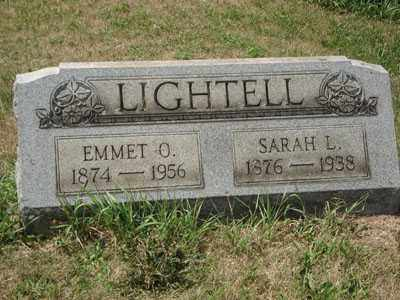 LIGHTELL, SARAH L. - Jefferson County, Ohio   SARAH L. LIGHTELL - Ohio Gravestone Photos