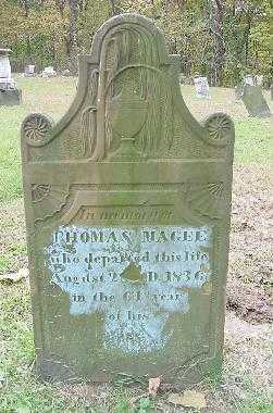 MAGEE, THOMAS - OVERALL VIEW - Jefferson County, Ohio | THOMAS - OVERALL VIEW MAGEE - Ohio Gravestone Photos