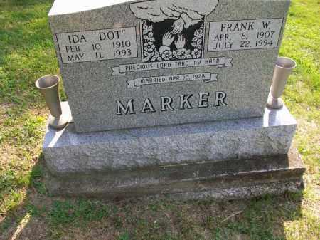 MARKER, FRANK WESLEY SR - Jefferson County, Ohio   FRANK WESLEY SR MARKER - Ohio Gravestone Photos
