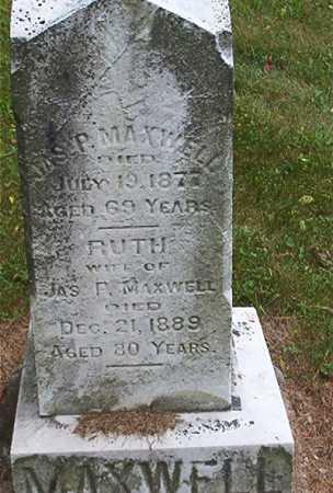MAXWELL, JAMES PATTERSON - Jefferson County, Ohio | JAMES PATTERSON MAXWELL - Ohio Gravestone Photos