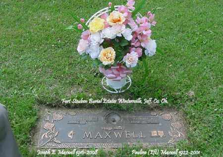MAXWELL, PAULINE - Jefferson County, Ohio   PAULINE MAXWELL - Ohio Gravestone Photos