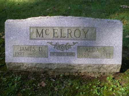 MCELROY, ALDA S - Jefferson County, Ohio | ALDA S MCELROY - Ohio Gravestone Photos
