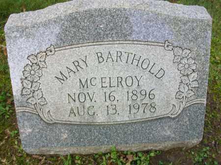 MCELROY, MARY - Jefferson County, Ohio   MARY MCELROY - Ohio Gravestone Photos