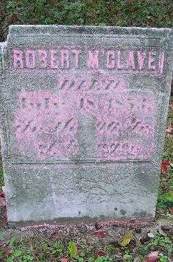 M'CLAVEN, ROBERT - Jefferson County, Ohio | ROBERT M'CLAVEN - Ohio Gravestone Photos