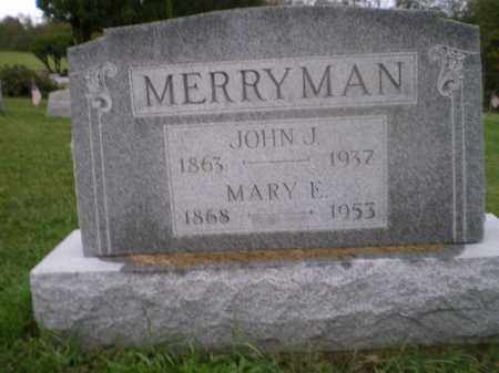 "MERRYMAN, MARY ELIZABETH ""MOLLIE"" - Jefferson County, Ohio   MARY ELIZABETH ""MOLLIE"" MERRYMAN - Ohio Gravestone Photos"