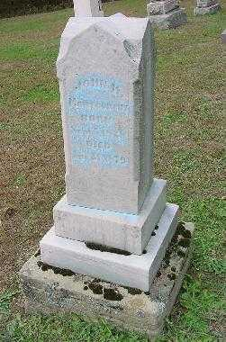 MONTGOMERY, JOHN H. - Jefferson County, Ohio | JOHN H. MONTGOMERY - Ohio Gravestone Photos