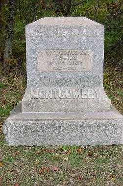MONTGOMERY, MONUMENT - Jefferson County, Ohio | MONUMENT MONTGOMERY - Ohio Gravestone Photos